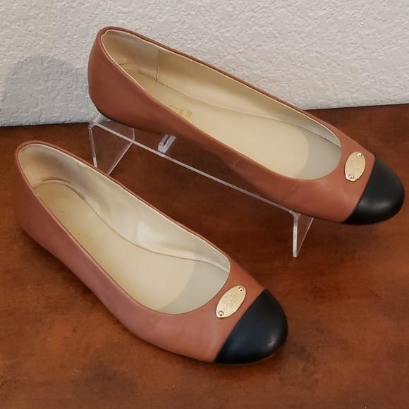 Coach ballet flats size 7